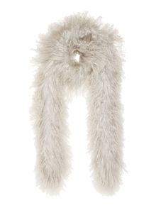 Gray & Willow Sheepskin Scarf