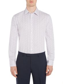 Howick Tailored Underwood Floral Print Shirt