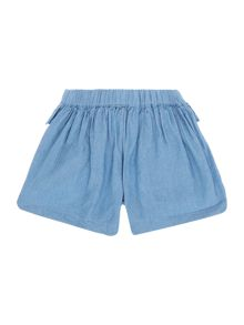 Angel & Rocket Girls Chambray Short