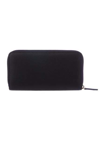 Vivienne Westwood Somerset black zip around purse