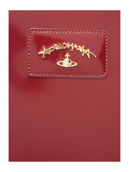 Vivienne Westwood Newcastle red pouch