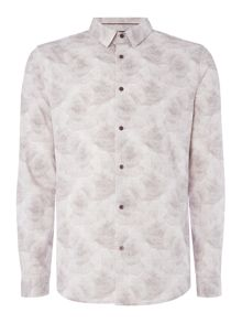 Linea Lille Tonal Rose Cloud Print Shirt
