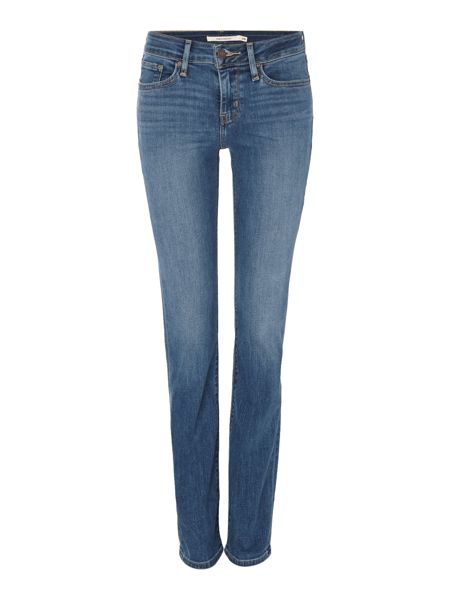 Levi's 714 straight leg jean in blue vista