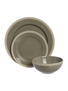 Linea Forest 12 piece dinnerware set