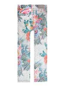 Angel & Rocket Girs Tropical Print Jeans