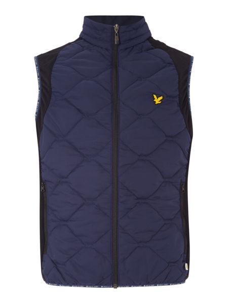 Lyle and Scott Golf Irvine Quilted Gilet