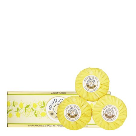Roger & Gallet Citron Perfumed Soaps 3 x 100g