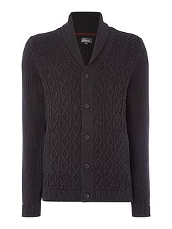 Agen Chunky Cable Knit Cardigan