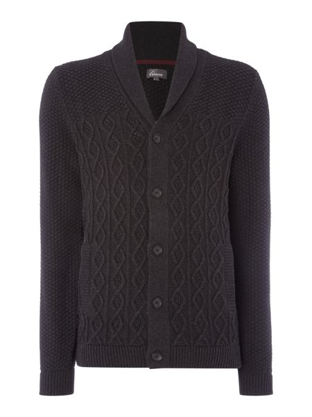 Linea Agen Chunky Cable Knit Cardigan
