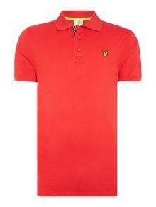 Lyle and Scott Golf Tech Pique Polo Shirt