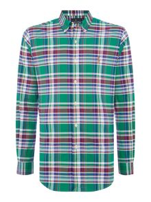 Polo Ralph Lauren Long sleeve stretch check