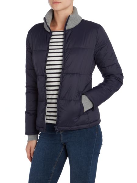 Oui Quilted jacket knit