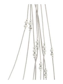 Gray & Willow Ball multi strand necklace
