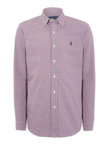 Polo Ralph Lauren Long sleeve mini gingham shirt