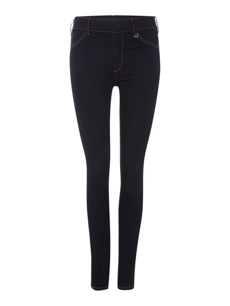 True Religion Runway legging jean in body rinse