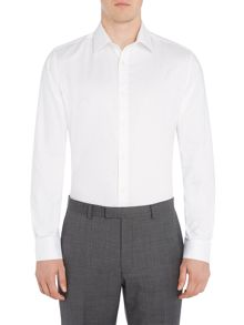 Howick Tailored Camberly Herringbone Shirt