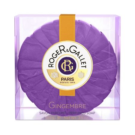 Roger & Gallet Gingembre Round Soap in Travel Box 100g