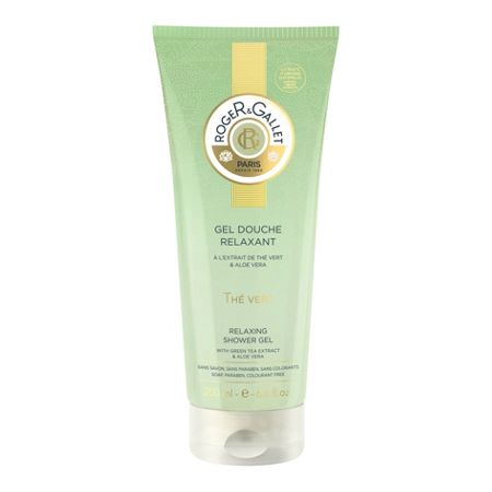 Roger & Gallet Green Tea Shower Gel 200ml