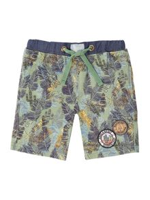 Angel & Rocket Boys Cactus Print Short