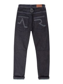 Angel & Rocket Boys Denim Raw Jeans