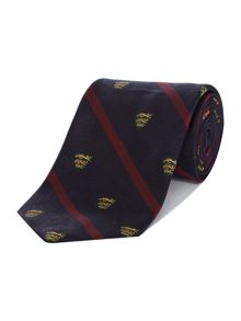 Polo Ralph Lauren Thin Stripe Shield Tie
