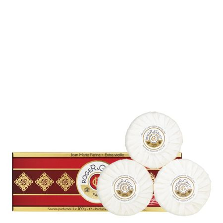 Roger & Gallet Jean Marie Farina Perfumed Soaps 3 x 100g
