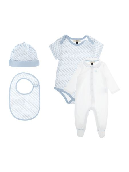 Armani Junior Babys All-in-One 5 Piece Set