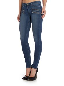 Paige Edgemont ultra zip skinny in gigi