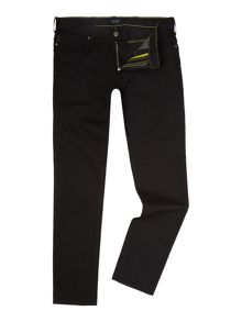 Armani Jeans J06 slim fit black jeans