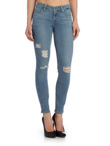 Paige Verdugo skinny jean in annora destroyed