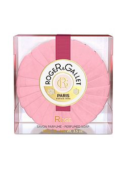 Rose Round Soap in Travel Box 100g