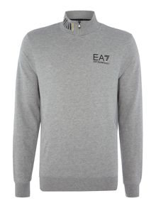 EA7 Train Core ID Zip Neck Sweatshirt