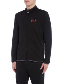 EA7 Evolution Full-Zip Funnel Neck