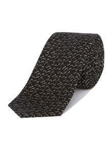PS By Paul Smith Cross Hatch Detail Tie