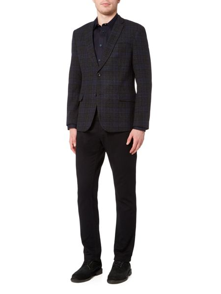 Linea Grenoble Check Blazer