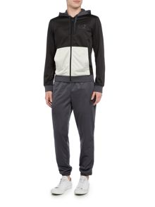 EA7 Tri Tonal Poly Sweat Suit