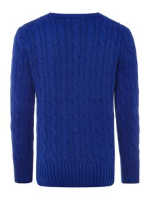 Polo Ralph Lauren Boys Crew Neck Cable Knit Jumper