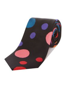 PS By Paul Smith Spot Print Silk Tie