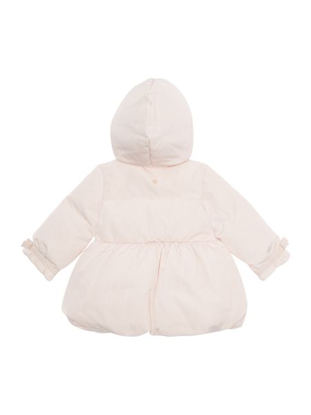 Armani Junior Girls padded Princess Coat with Hood