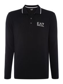 EA7 Long Sleeve Core ID Stretch Polo