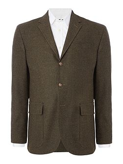 Morgan Tonal Grid Check Blazer