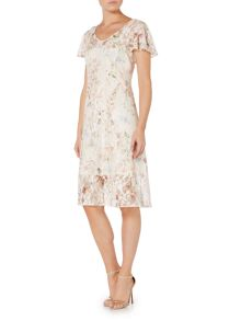 Therapy Harlyn Floral Lace Dress