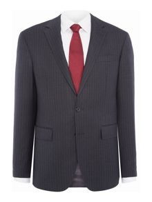 Polo Ralph Lauren Polo1 Single Breasted Pinstripe Two-Piece Suit