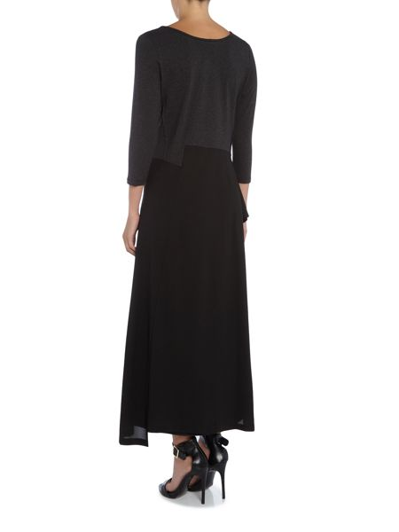 Crea Concept Long dress with frill