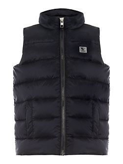 Boys Down Filled Zip Gilet