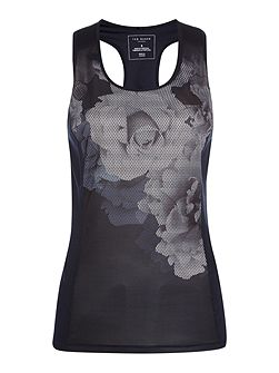 Monorose racer back sports top