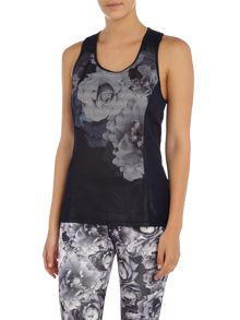 Ted Baker Monorose racer back sports top