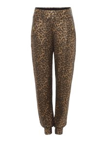 Biba Body luxe casualwear leopard zip trousers