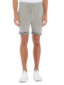 Jack & Jones Floral Trim Sweat Shorts