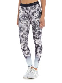Ted Baker Monorose blue printed leggings